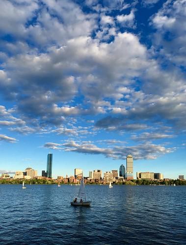 summer boston massachusetts charlesriver newengland sailboats pw