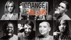 Orange Hillary