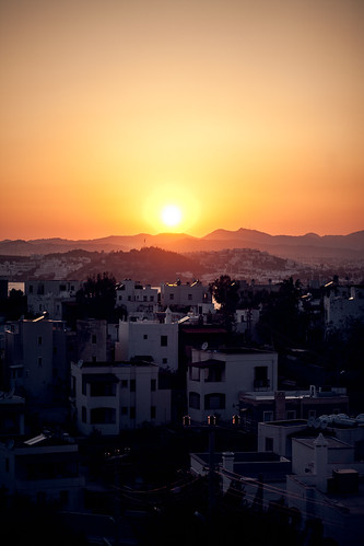 Sunset over Bodrum