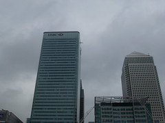 Canary Wharf's skyscrapers
