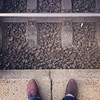 Warten am Gleis