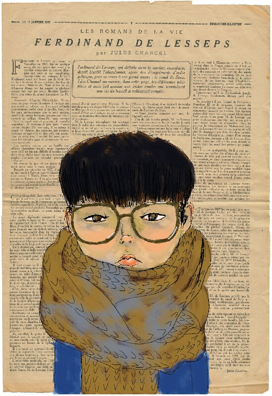 yokoo on newsprint