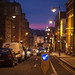 Knight street light night