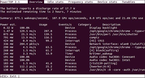 How to monitor power usage in Linux - Xmodulo