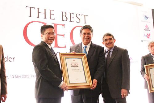 The CEO of Choice 2013: Iskandar.