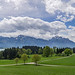 Alpenblick am Forggensee