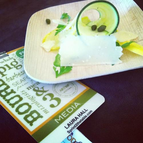 Nathan Lyon Summer Squash Salad