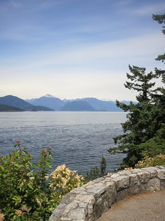 Howe Sound and the Tantalus range from Whytecliff Park