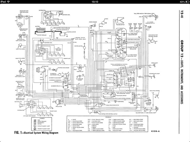 1962    ford Galaxie    wiring       diagram      Flickr  Photo Sharing