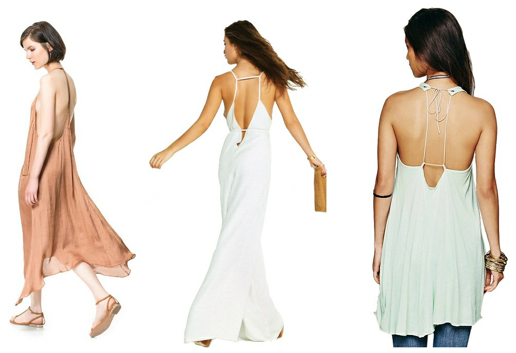 spaghetti straps, rompers, jumpsuits, backless rompers, how to style rompers, how to style jumpsuits