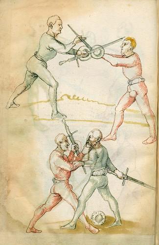 009-Fechtbuch-1520-Staatsbibliothek zu Berlin