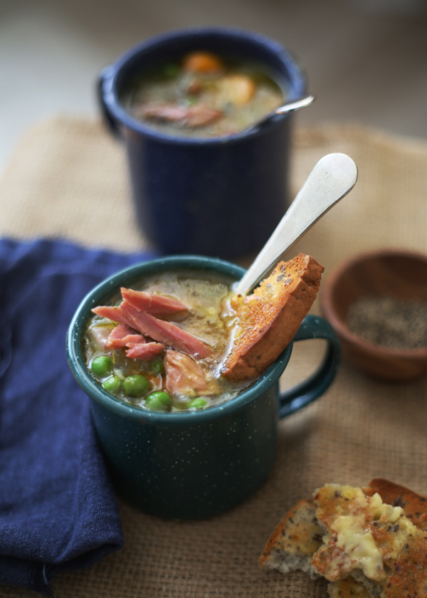 Pea & Ham Soup / The Gluten Free Scallywag