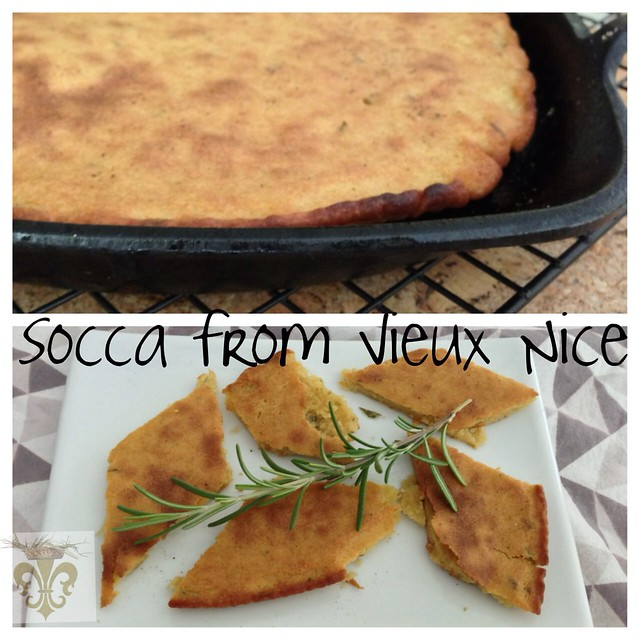 Socca from Vieux Nice