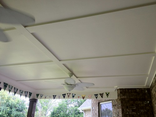 Back Porch Ceiling