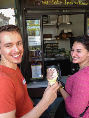 Bi-Rite Creamery soft serve, San Francisco SweetsCrawl
