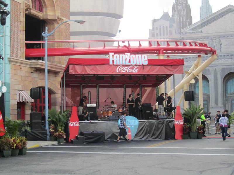 Coca-Cola Fan Zone Stage
