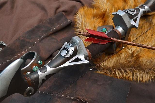 Volpin Props | Nightingale Bow, Skyrim