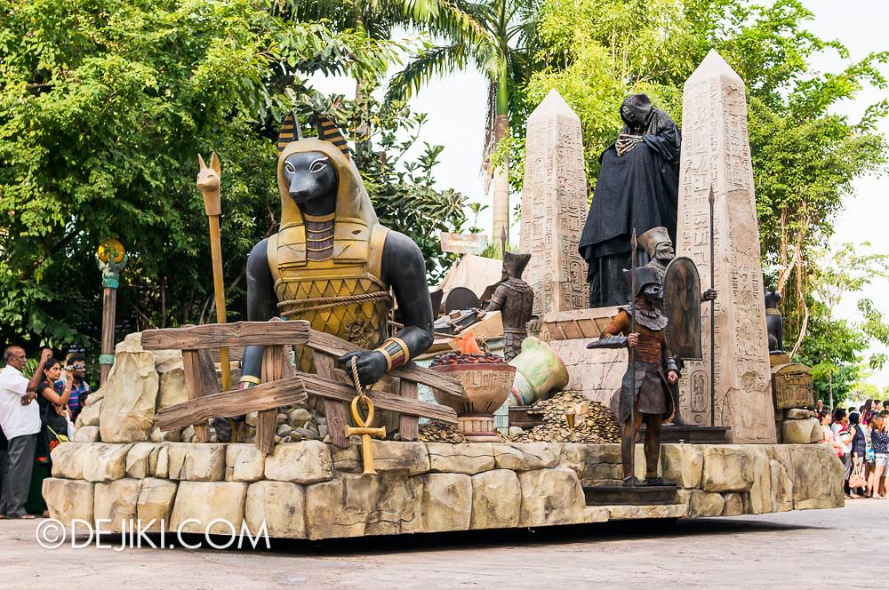 Universal Studios Singapore - Hollywood Dreams Parade - Ancient Egypt
