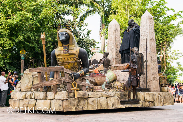 Universal Studios Singapore - Hollywood Dreams Parade - Ancient Egypt