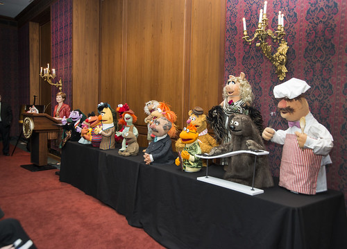 20 Jim Henson puppets join the National Museum of American History's popular culture collections