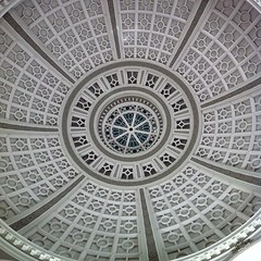 art, pattern, symmetry, ceiling, stone carving, design, circle, dome,