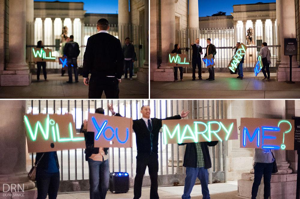 Jeff's Wedding Proposal