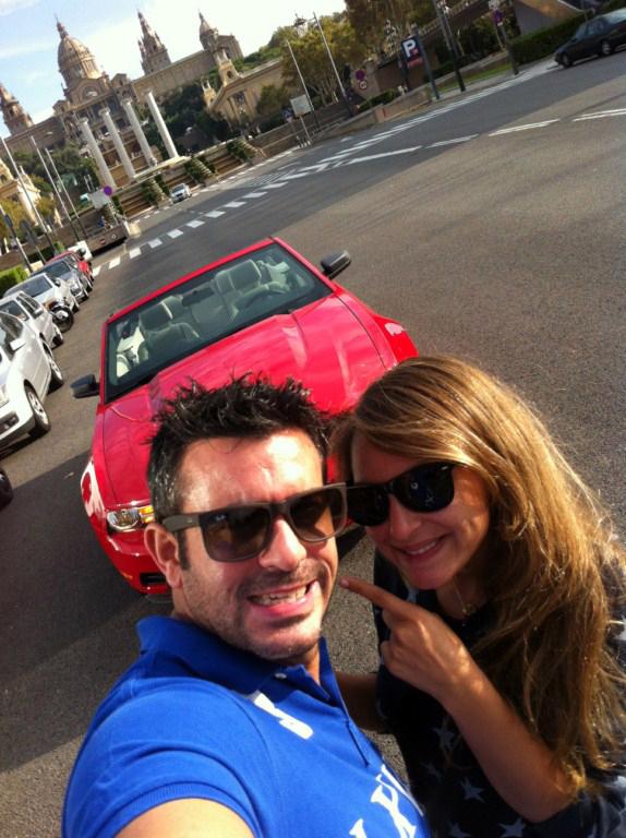 Recorrer la bella ciudad de Barcelona en un Ford Mustang descapotable es una maravilla, ... poder mirar a lo alto y disfrutar de cada uno de sus lugares