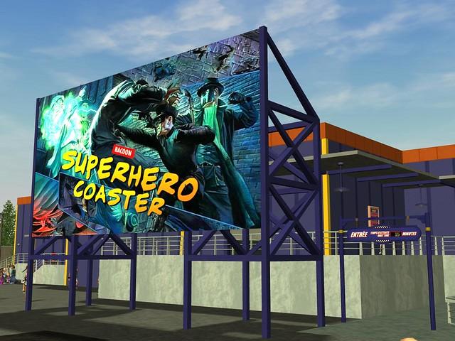 Miramar Studios Europe - Racoon's Superhero Coaster