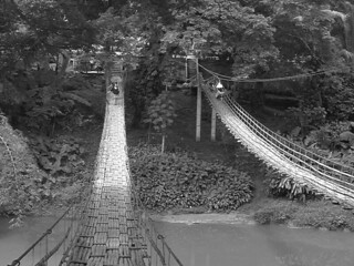 Bohol - Hanging Bridge