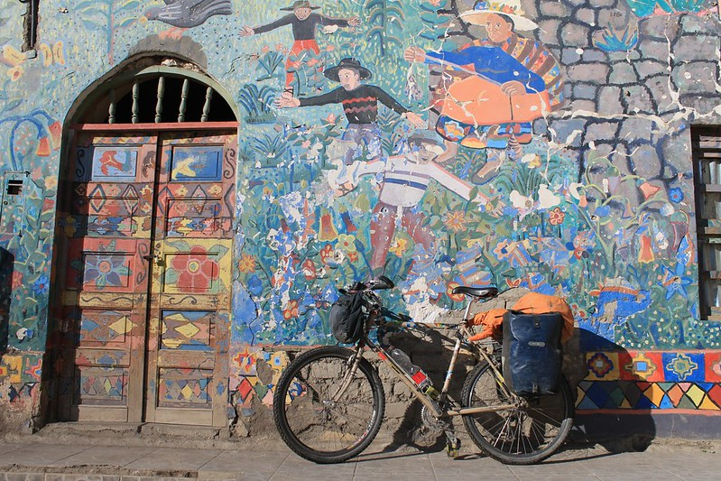 Mural in Huancahuasi