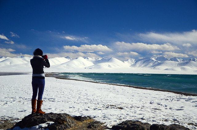 Gorgeous View in Tibet, China by CC user kudumomo on Flickr