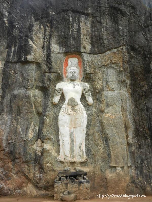 Будурувагала, Цейлон