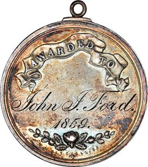 John Ford medal reverse