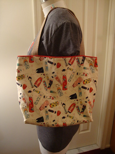 Antoinette made me a bag for my birthday
