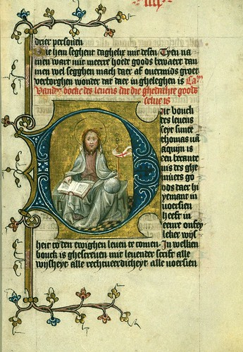 022-Fol 4r-W.171, DUKE ALBRECHT'S TABLE OF CHRISTIAN FAITH (WINTER PART)-1400-The Digital Walters