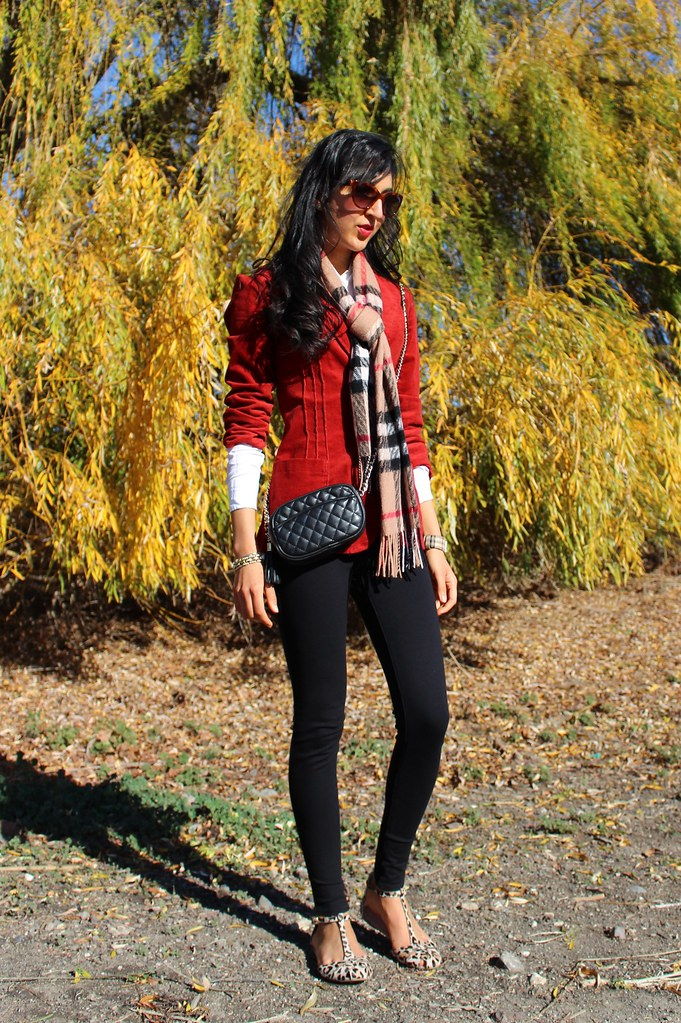 Plaid and Leopard 1