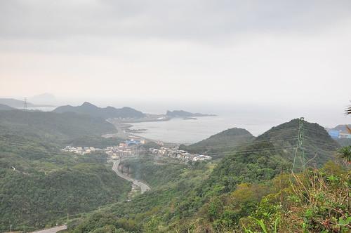 龍潭山俯瞰。(攝影:邱思叡)