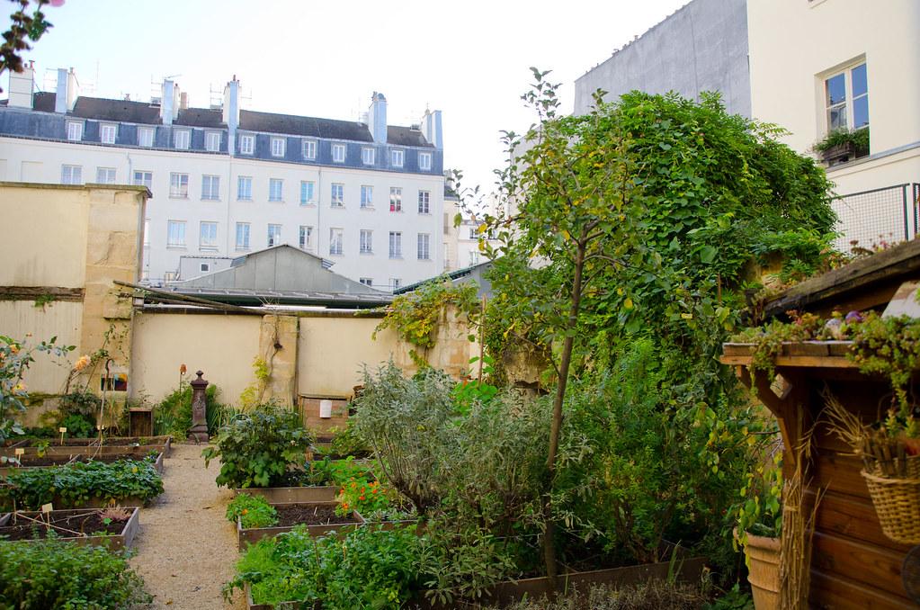 Jardin Madeleine de Scudéry