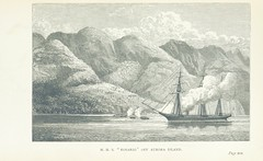 """British Library digitised image from page 233 of """"The Cruise of the 'Rosario' amongst the New Hebrides and Santa Cruz Islands. ... With map and illustrations"""""""