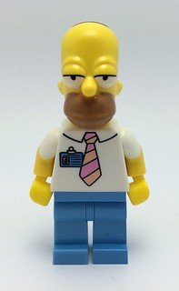 LEGO Simpsons Homer Front