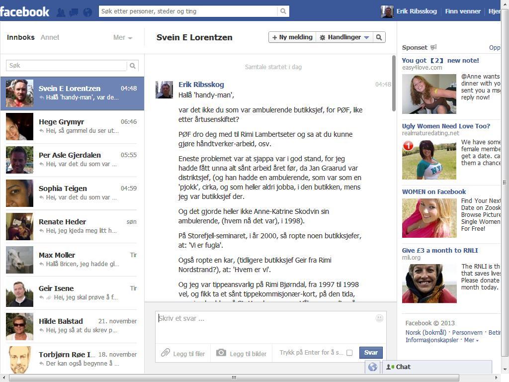 lorentzen facebook