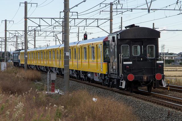 東京メトロ 銀座線 1000系 甲種輸送, ヨ8000