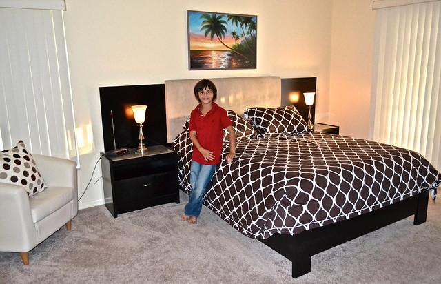 the master bedroom - golf resort