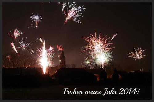 Frohes neues Jahr 2014!