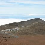 Visiter center, crater, Maui