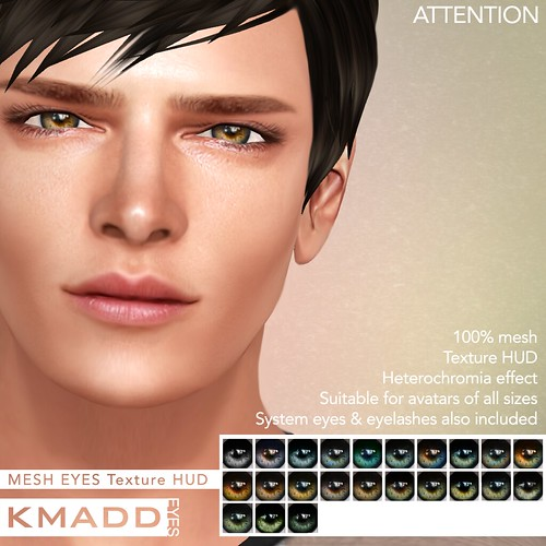 KMADD Mesh Eyes ~ ATTENTION