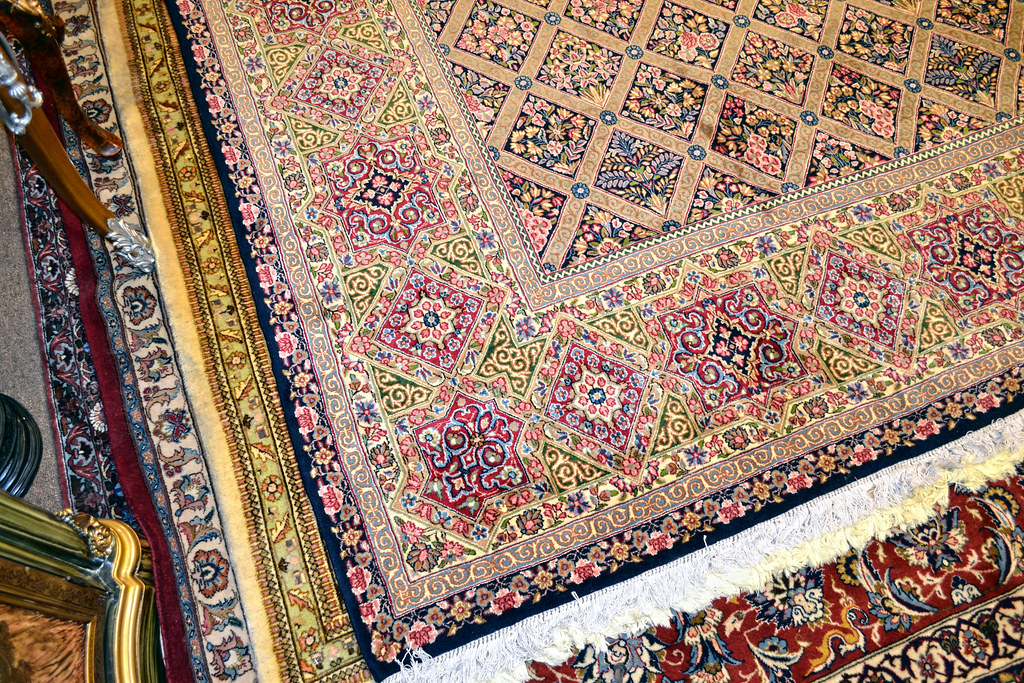 Oversize Persian Fine Kerman 13x17