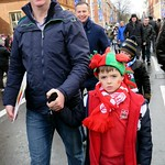 Father with Son: Wales vs Italy - Cardiff 2014