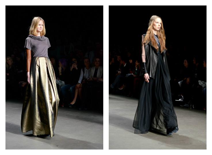 Collage Jan Boelo Fashion week Amsterdam 2014