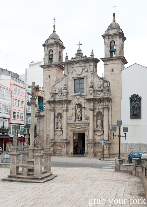 Iglesia de San Jorge Church of St George in A Coruna, Galicia, Spain